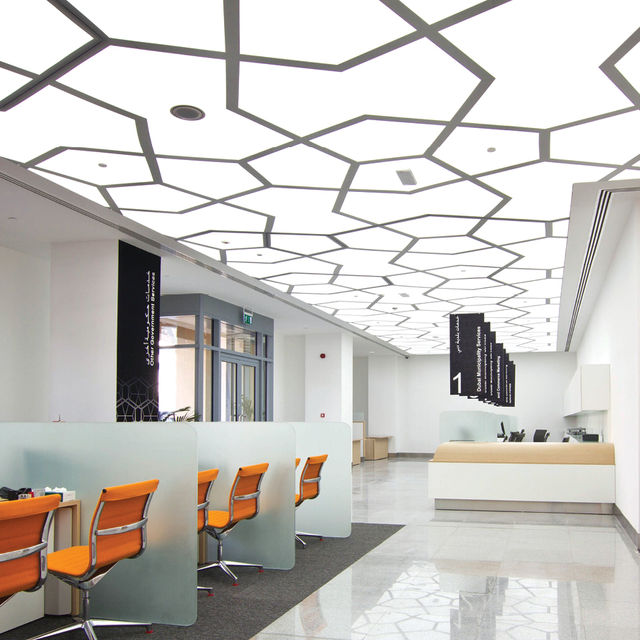 Archetype Barrisol Acoustic Ceiling application