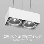 zaniboni lighting fixture and logo
