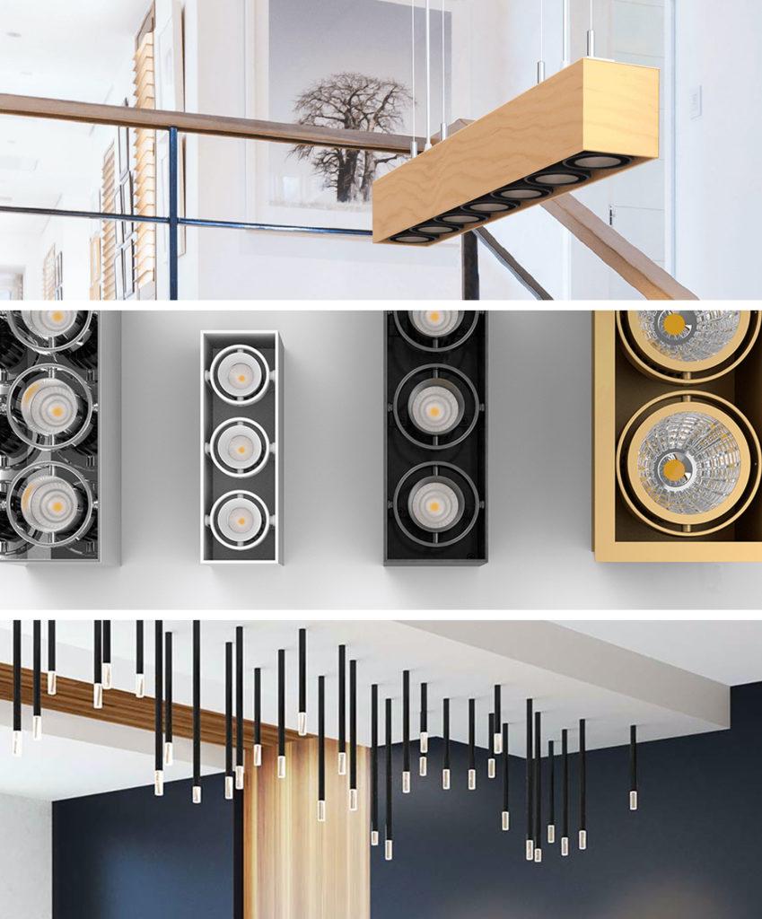 zaniboni lighting fixture array